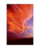 Sunset Clouds over Northern Nevada Photographic Print by Ronald A Dahlquist