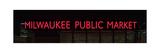 Milwaukee Public Market Neon Photographic Print by Steve Gadomski