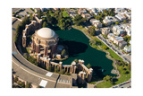 Palace of Fine Arts Aerial Photographic Print by Steve Gadomski