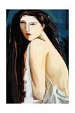 Posing Nude Giclee Print by Rabi Khan