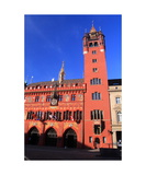 Basel Rathaus Photographic Print by Ronald A Dahlquist