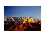 Mount San Jacinto Photographic Print by Ronald A Dahlquist