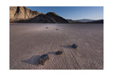 Rocks on the Racetrack Death Valley Photographic Print by Steve Gadomski