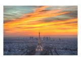 Parisian Sunset Prints