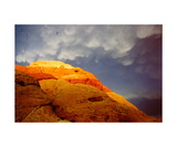 Storm Clouds over Red Rocks Photographic Print by Ronald A Dahlquist