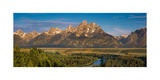 Oxbow Bend Grand Tetons Photographic Print by Steve Gadomski