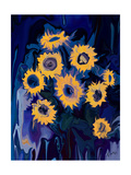 sunflower 1 Photographic Print by Rabi Khan