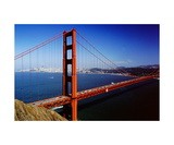 Golden Gate Bridge from the Marin Headlands Photographic Print by Ronald A Dahlquist