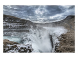 Gulfoss Waterfall Iceland Poster