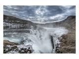 Gulfoss Waterfall Iceland Poster