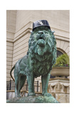 Chicago Art Institute Lion Photographic Print by Patrick Warneka