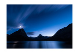 Midnight Over Glacier National Park Photographic Print by Steve Gadomski