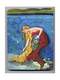 Pretty Red Mermaid Photographic Print by sylvia pimental