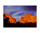 North and South Gateway Rocks Photographic Print by Ronald A Dahlquist
