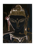 portrait of vajrasattva 1 Photographic Print by Rabi Khan