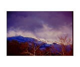Snow on Mount Diablo from Danville Photographic Print by Ronald A Dahlquist