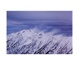 Snow Banners above Little Cottonwood Canyon Photographic Print by Ronald A Dahlquist