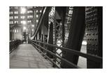 Chicago Bridge Over River Reproduction photographique par Patrick Warneka