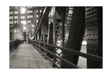 Chicago Bridge Over River Photographic Print by Patrick Warneka