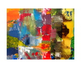 Abstract Color Study lV Photographic Print by Michelle Calkins