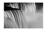 Niagara Falls Illuminations Number 2 BW Photographic Print by Steve Gadomski