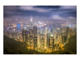 Hongkong From the Peak Prints