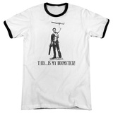 Army of Darkness- Boomstick! Ringer T-shirts