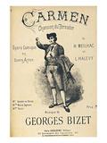 Bizet Opera Carmen Toreador Julisteet