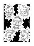 Tattoos Print by  KASHINK