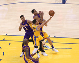 Los Angeles Lakers v Golden State Warriors Photo af Jack Arent