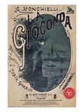 Ponchielli Opera La Gioconda Posters