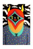 Cute little devil Prints by  KASHINK