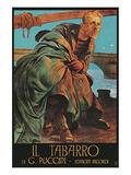 Puccini Opera Il Tabarro Print