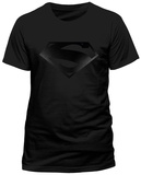 Superman- Black Logo (Slim Fit) T-Shirts