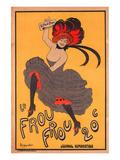 Le Frou Frou Journal Humorique Print