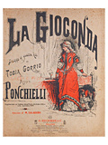 Ponchielli Opera La Gioconda Prints