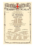 La Scala: Verdi Opera Traviata Prints