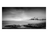 Bamburgh Castle Mono Print