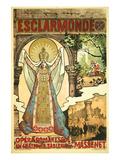 Massenet Opera Esclaramonde Posters