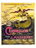 Massenet Opera Cendrillon Prints