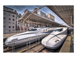 Japanese Bullet Trains Prints
