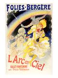 L'Arc En Ciel Ballet Rainbow - Birinci Sınıf Giclee Baskı
