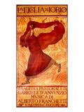 Annunzio Opera Figlia Di Iorio Posters