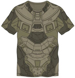 Halo 5- Master Chief Armor Costume Tee T-Shirts