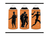 Spraypaint amphora Premium Giclee Print by  KASHINK