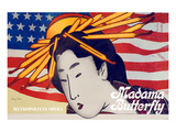 Puccini Opera Madama Butterfly Posters