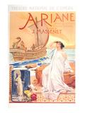 Massenet Opera Ariane Prints