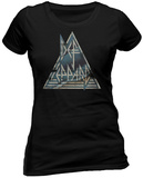 Juniors: Def Leppard- Pyramid T-Shirt