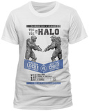 Halo 5- Fight Poster (slim fit) T-Shirt