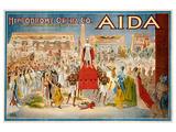 Verdi Opera Aida in Cleveland Prints